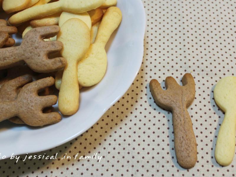 【肉桂打噴嚏】雙色牛奶餅乾