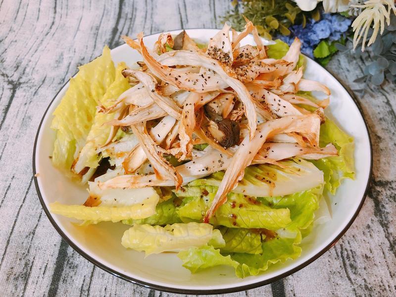 減脂料理-野菇生菜沙拉