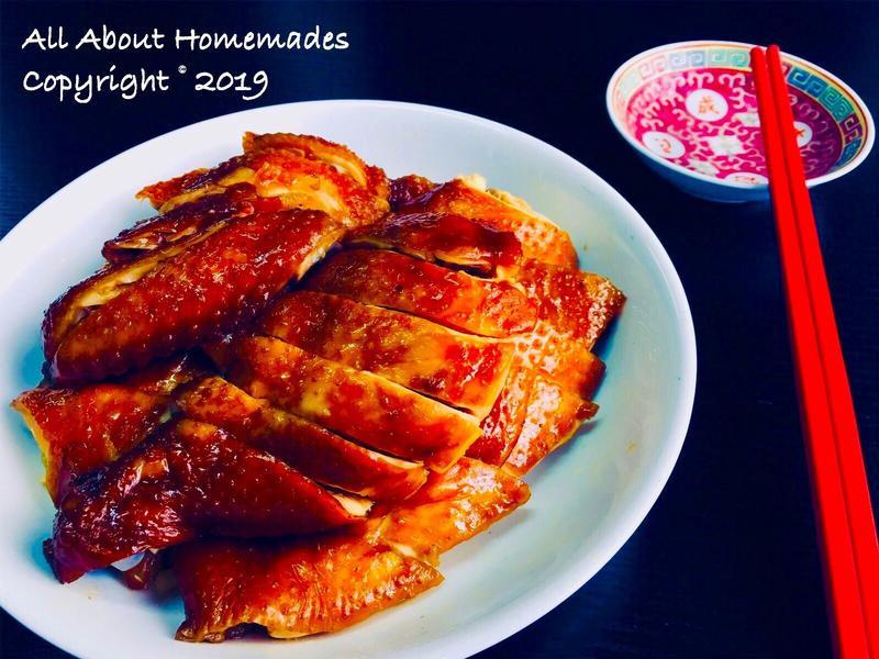 港式燒味系列:玫瑰豉油雞