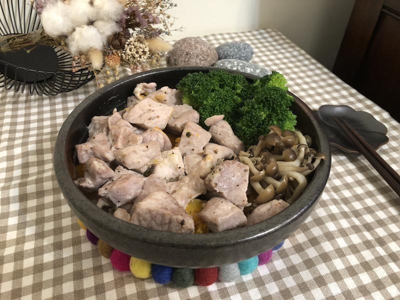 南瓜蒸豬肉