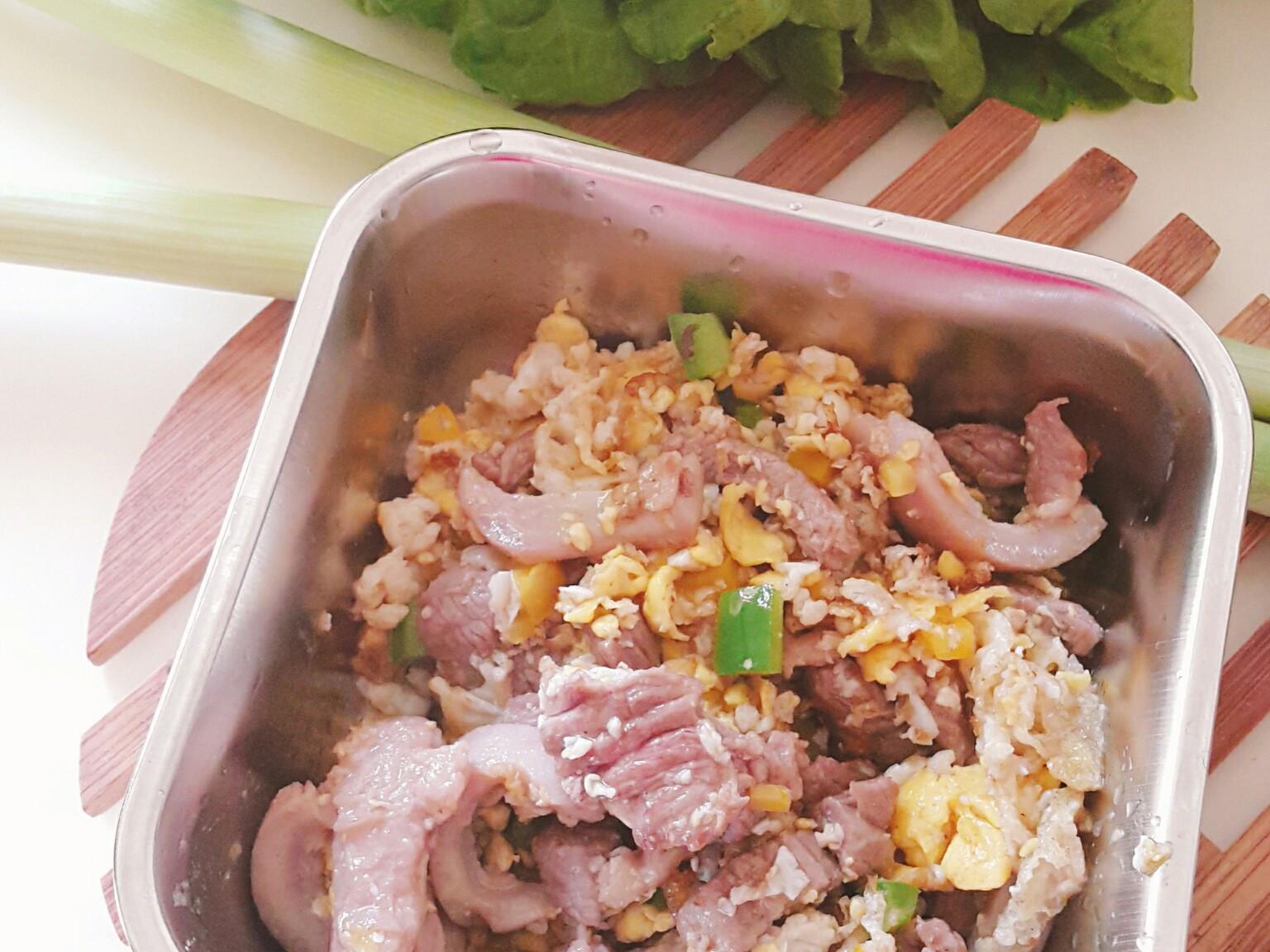 毛小孩鮮食餐 - 羊肉炒鮮蔬