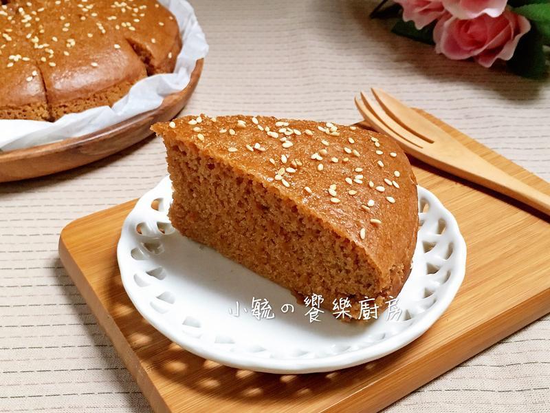 香Q黑糖糕。電鍋版