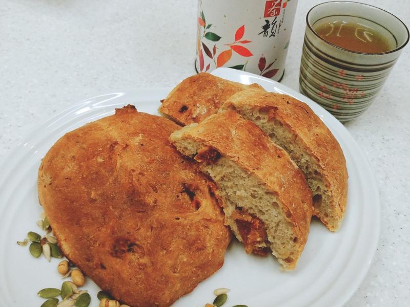 烏龍茶無花果麵包