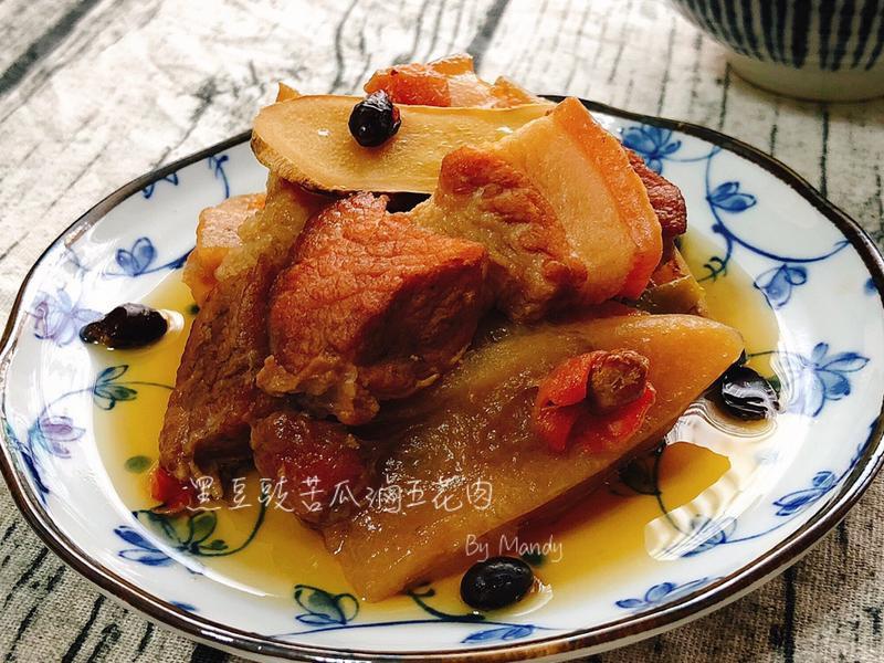 【對味】黑豆豉苦瓜滷五花肉