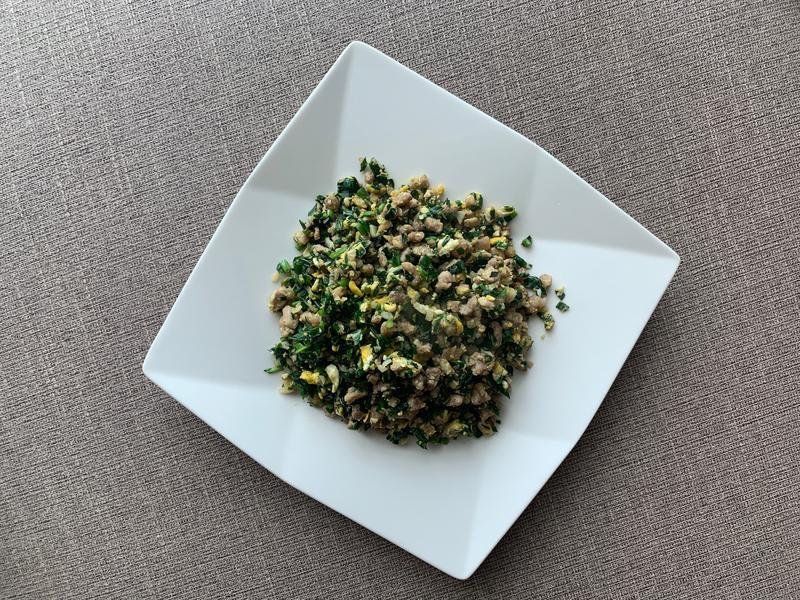 豬肉韭菜炒蛋(五分鐘出家常菜)