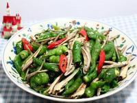小魚乾炒糯米椒