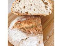 免揉黑麥鄉村麵包(冷藏隔夜發酵)