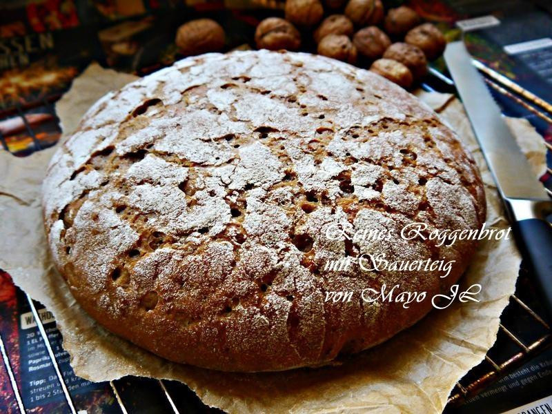 全黑麥酸麵糰麵包