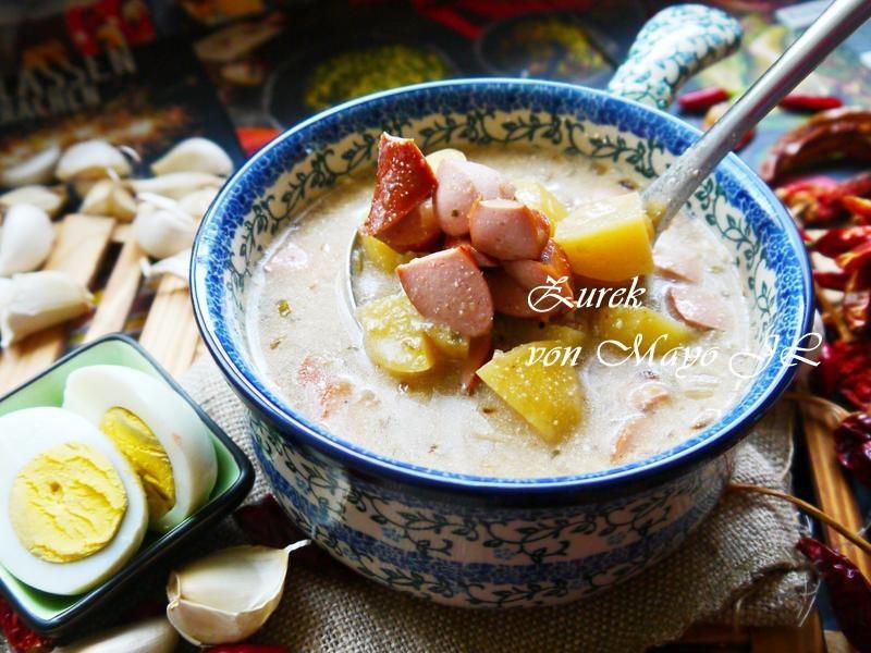 波蘭 酸麵糰湯(Żurek)