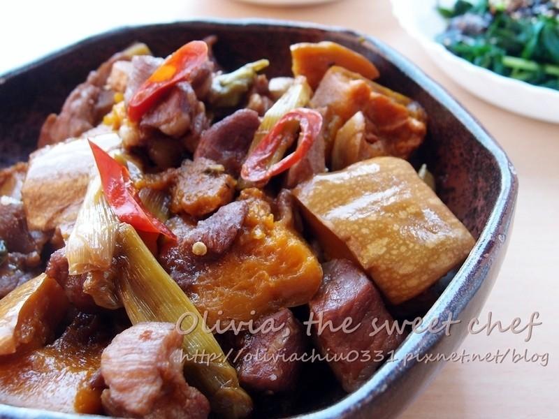 【四季江戶味之秋季料理】Olivia♥南瓜燉肉