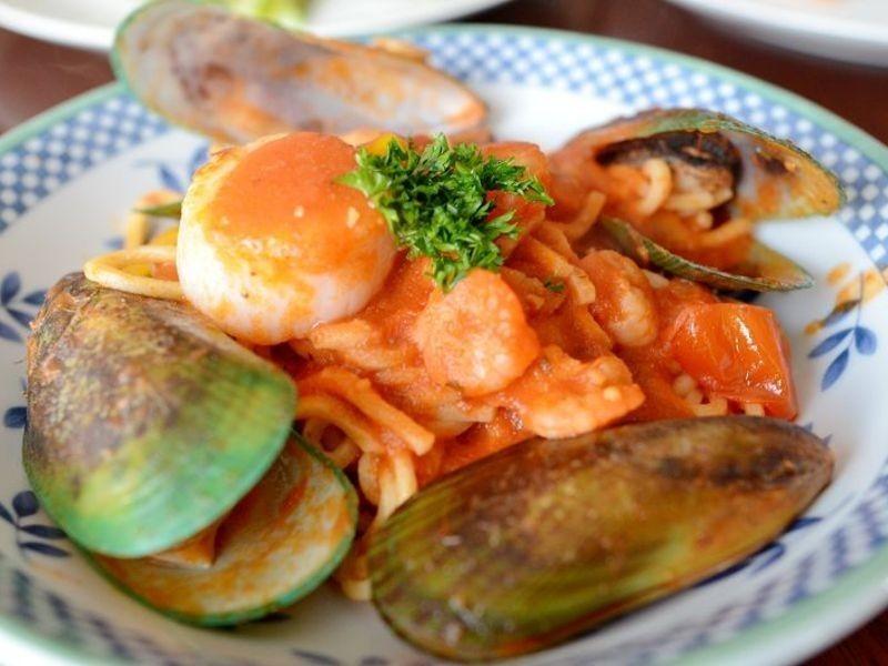 海鮮蕃茄義大利麵