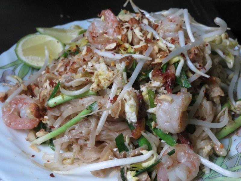 鮮蝦泰式炒河粉 Shrimp Pad Thai