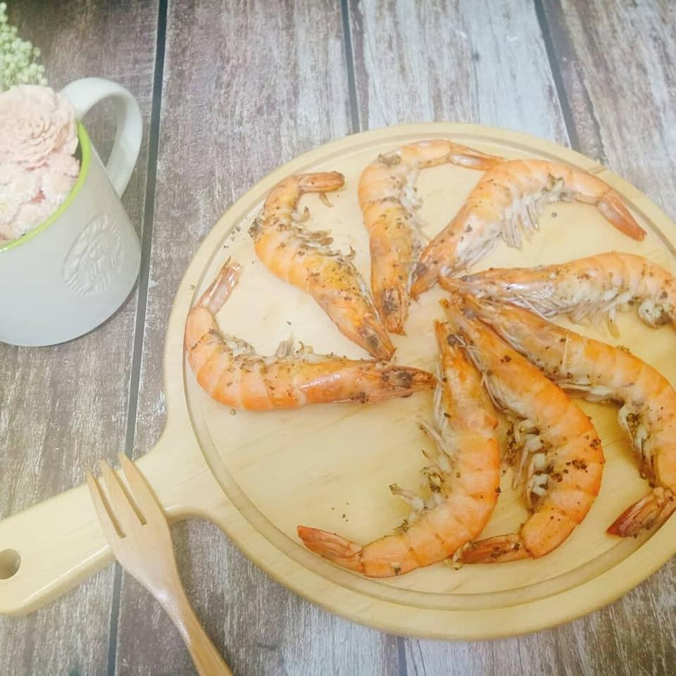 零廚藝料理-香烤胡椒蝦