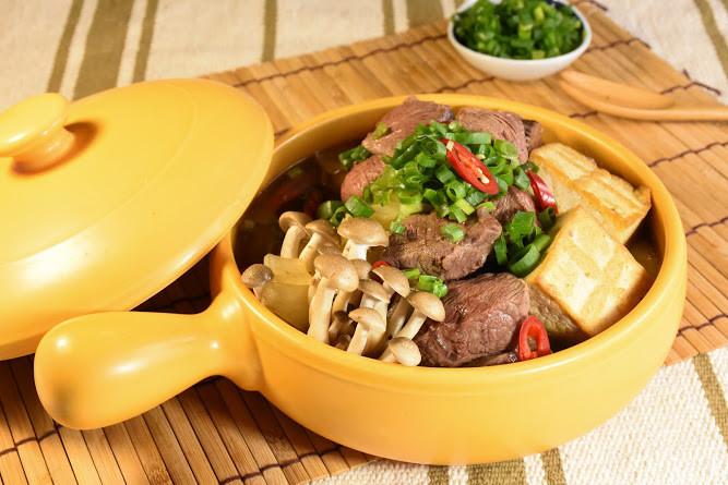 沙嗲牛肉煲
