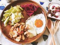 陽光鮮蝦蔬果早餐