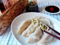 山茼蒿水餃(雞胸肉)