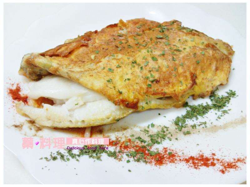 蛋香鱈魚排