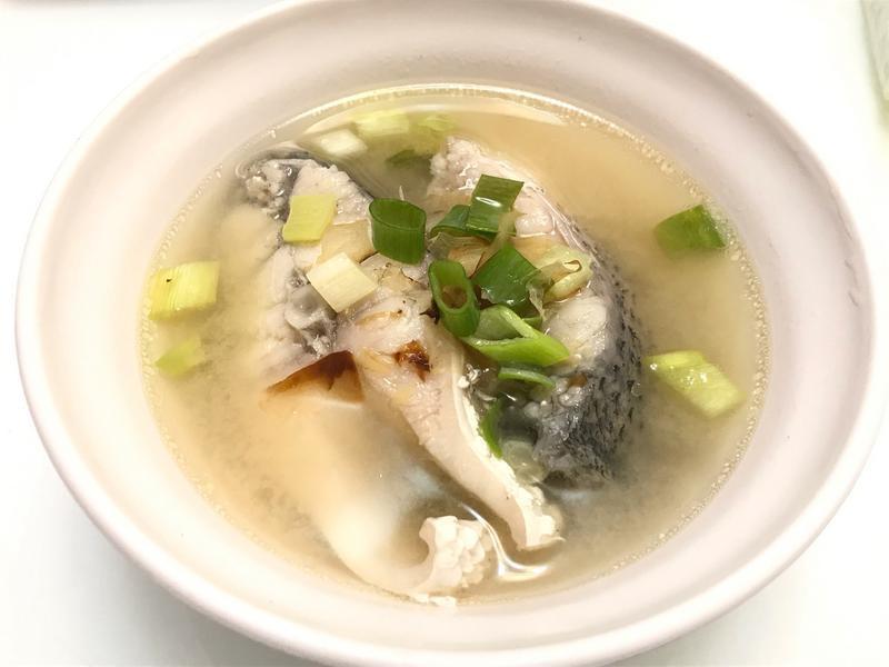 👩🏻🍳味噌鱸魚湯-手術後無酒料理