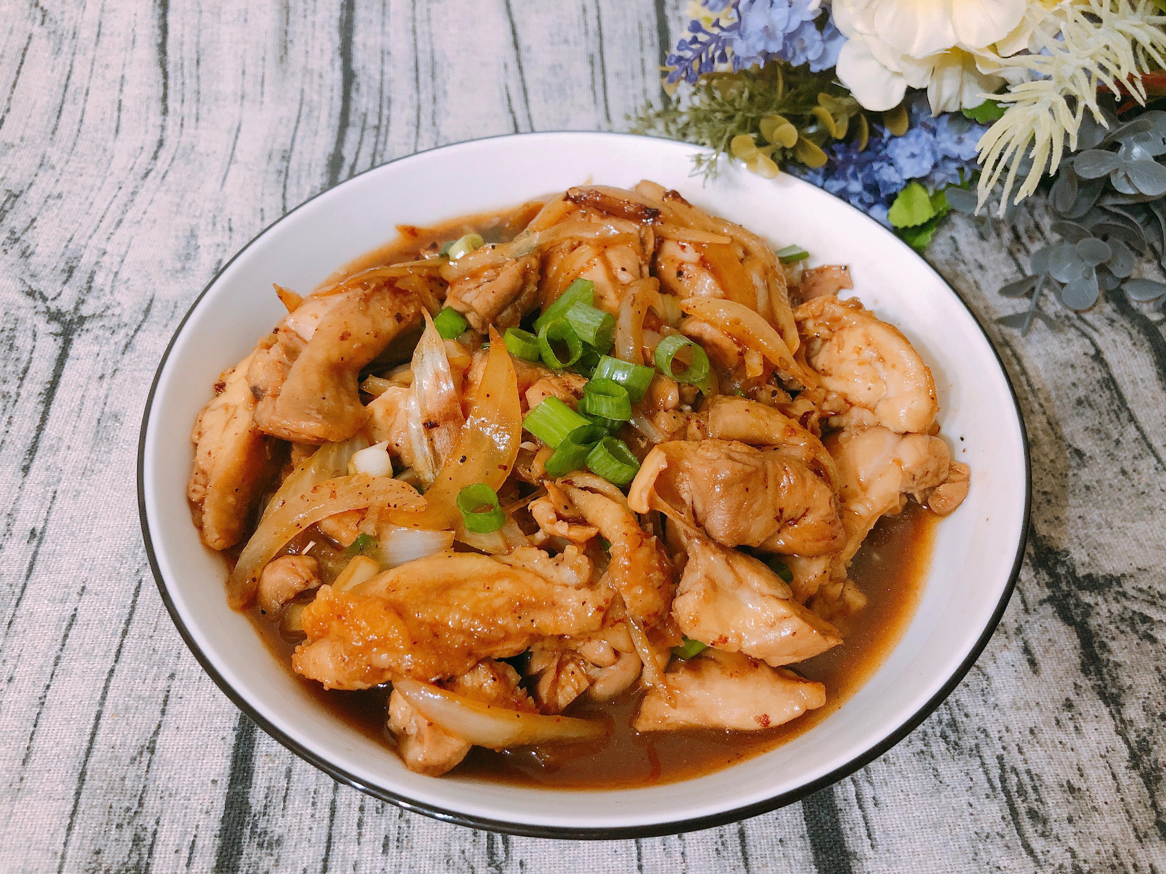 家常料理-醬燒雞腿排