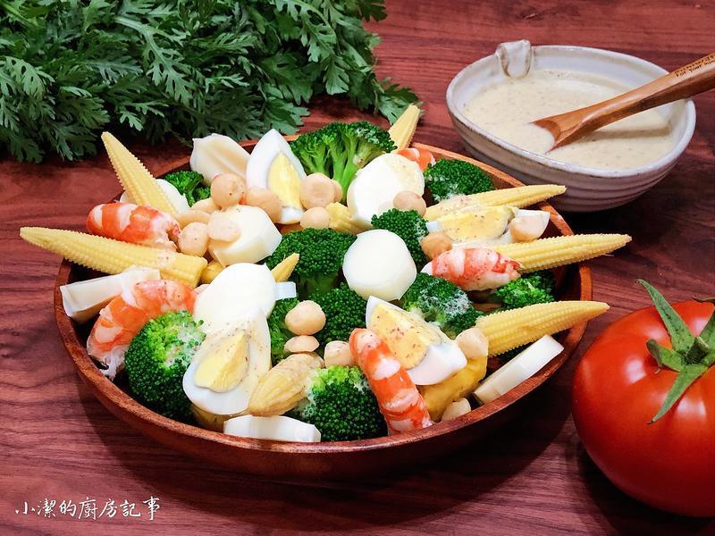 四方鮮乳 - 鮮蝦優格沙拉
