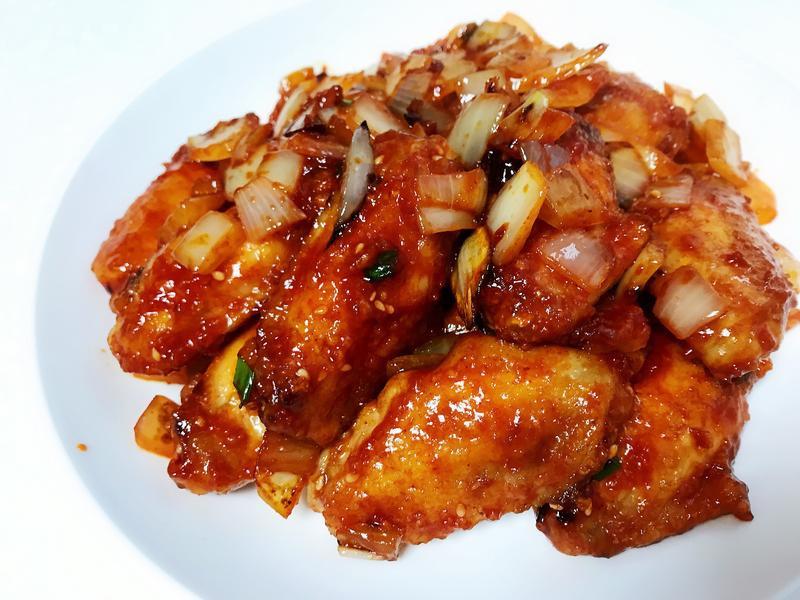 韓式辣醬蜜糖雞翅