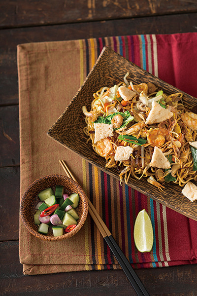 南洋料理達人劉明芳--印尼海鮮炒麵