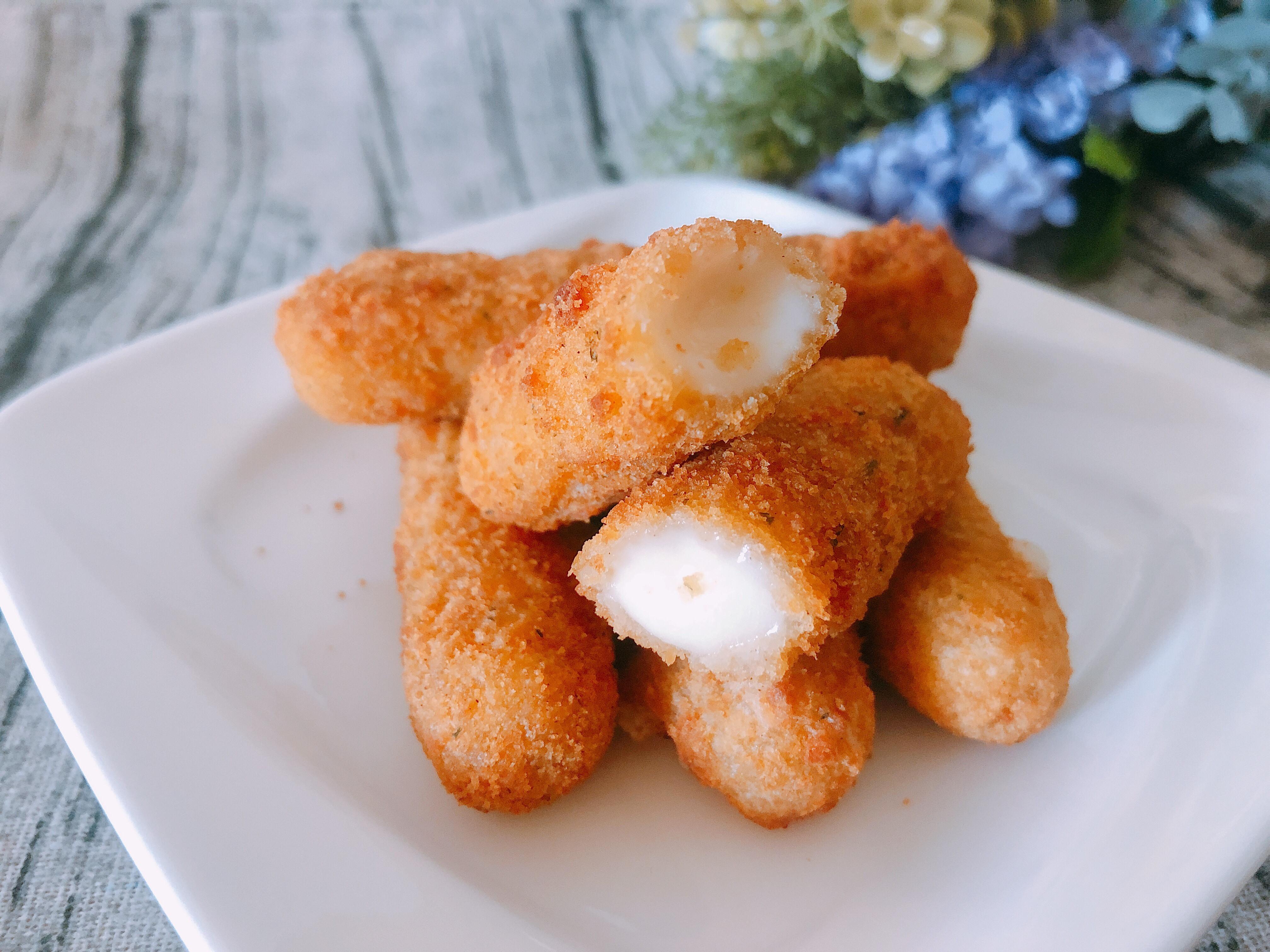 氣炸鍋料理-乳酪起司條