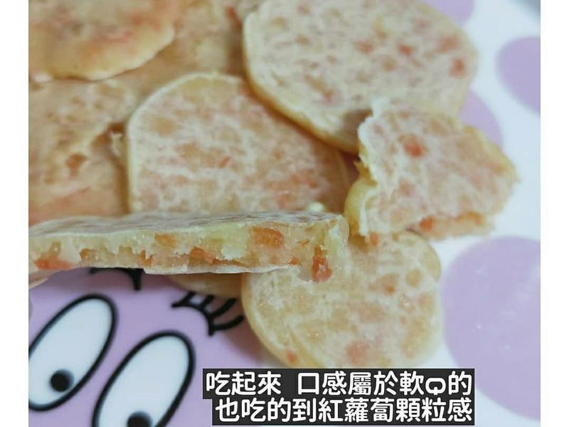 手指食物-副食品-紅蘿蔔Q餅-寶寶食譜