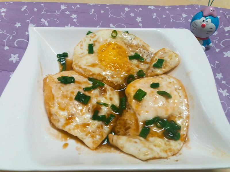 風味小菜~醬味煎蛋🌼