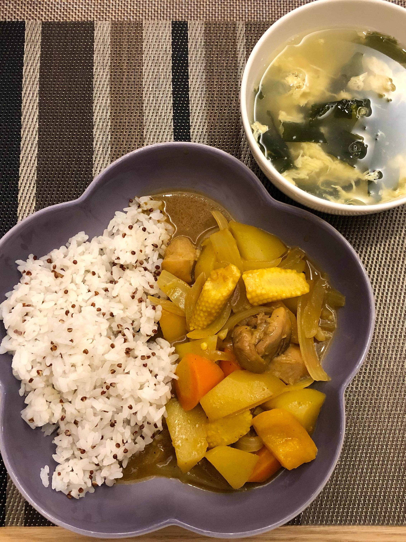 蔬菜雞肉咖喱🍛