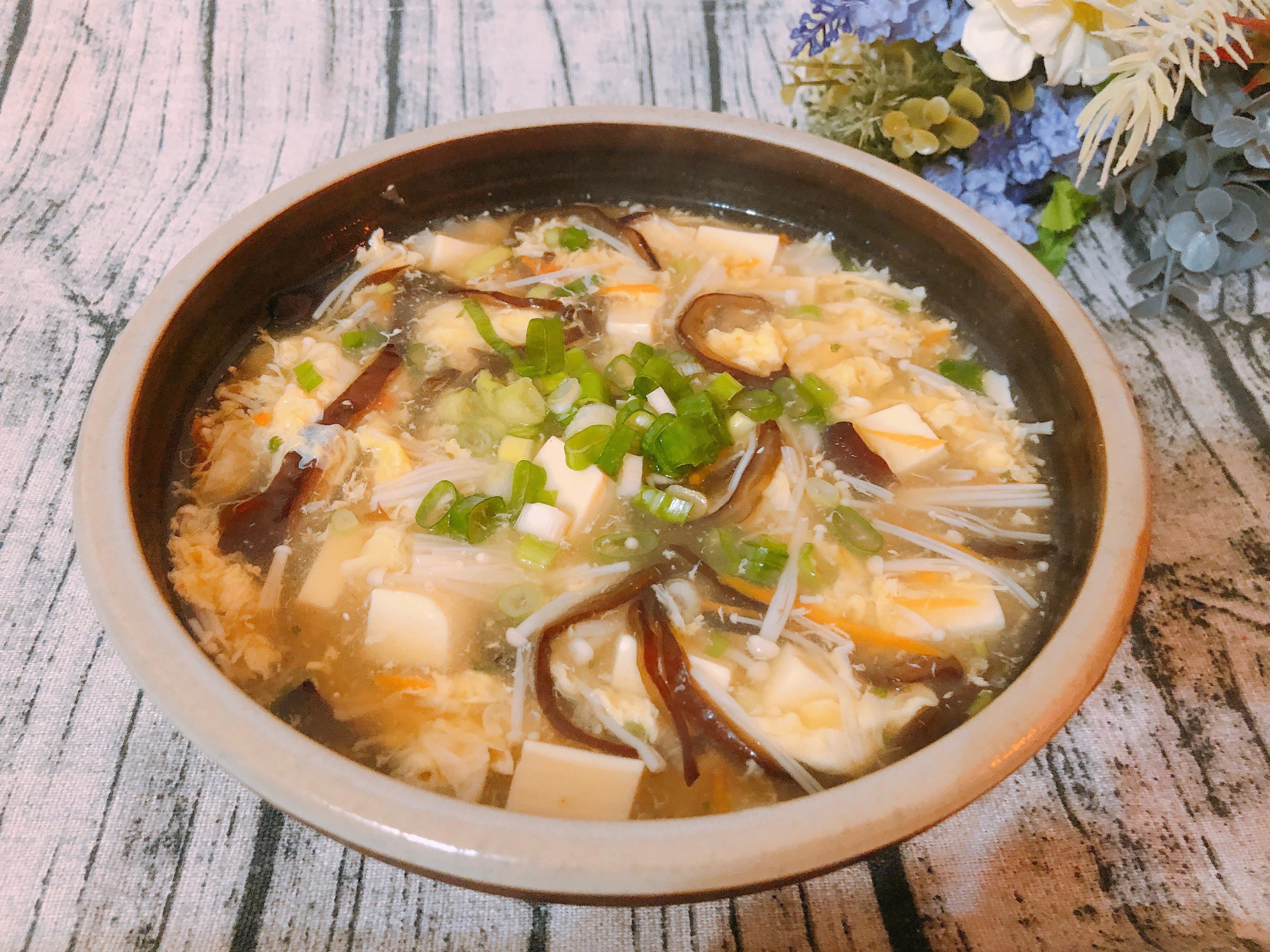 家常料理-簡易快速版酸辣湯
