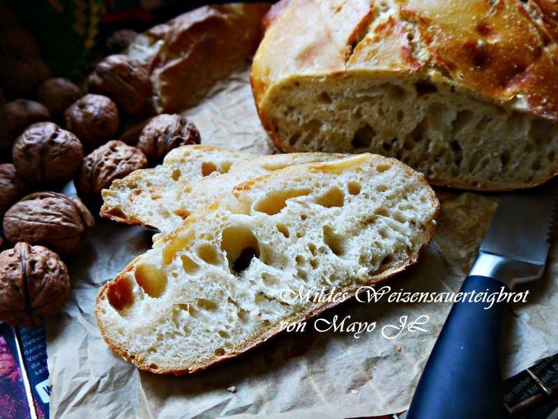 山林小屋小麥酸麵糰麵包