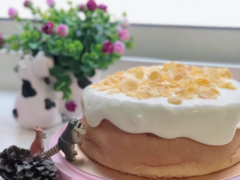 爆漿海鹽奶蓋蛋糕