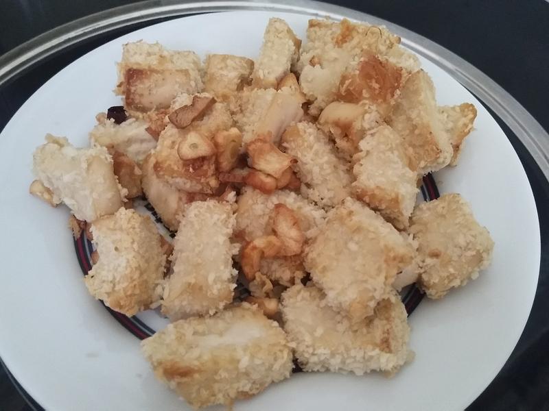 气炸豆腐(简单料理)