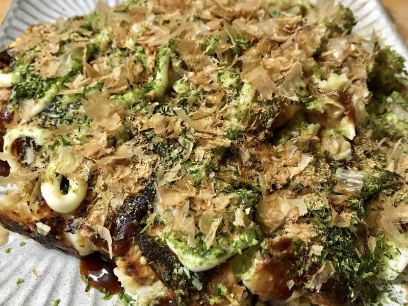 海鮮豬肉大阪燒