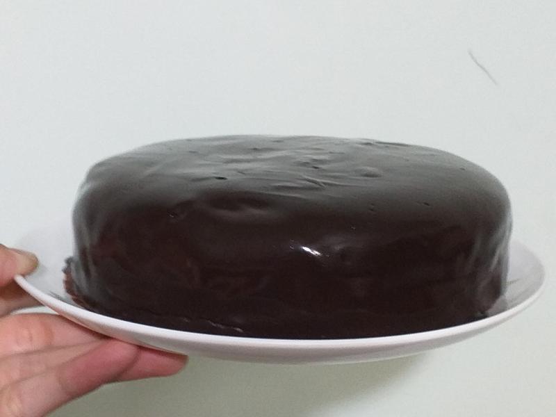 甘納許巧克力戚風蛋糕