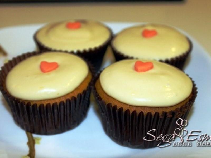 秋天限定 Pumpkin Cupcakes 南瓜杯子蛋糕
