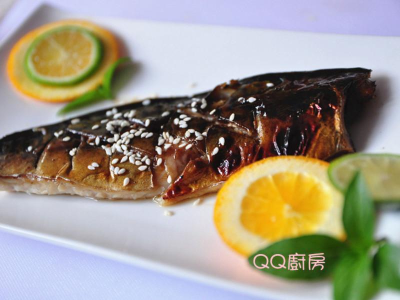 「四季江戶味之秋季料理」蜜梅醬烤鯖魚