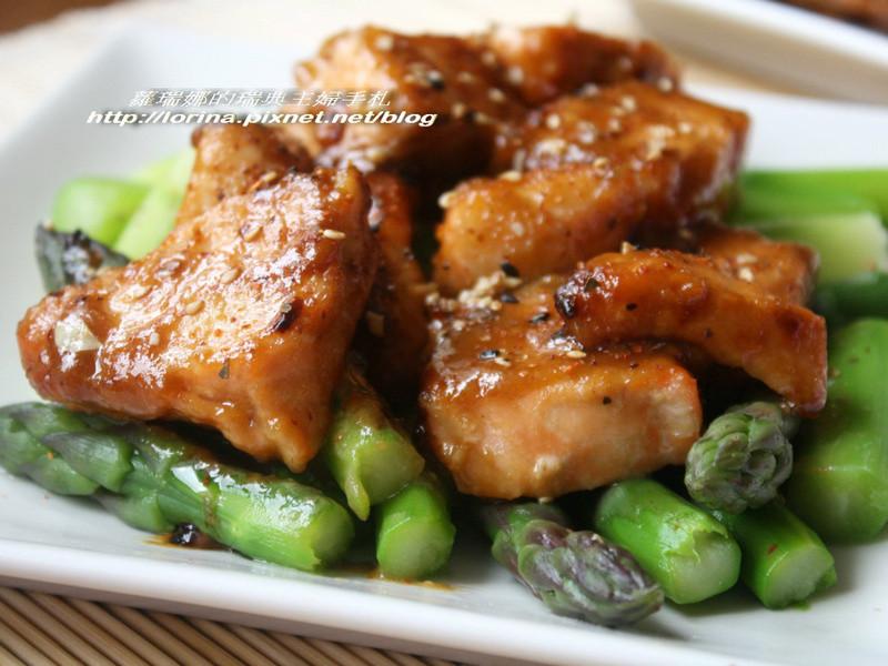 [四季江戶味之秋季料理]梅醬味噌烤鮭魚