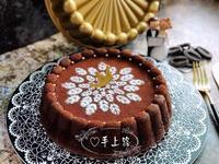 《應景母親節》法芙娜可可棉花蛋糕水浴烘烤