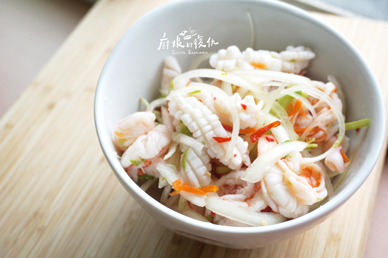 泰式涼拌海鮮☞ 夏日酸辣滋味☼ 保證成功