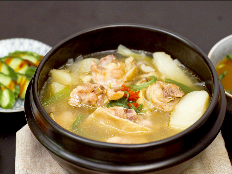 韓式馬鈴薯雞湯