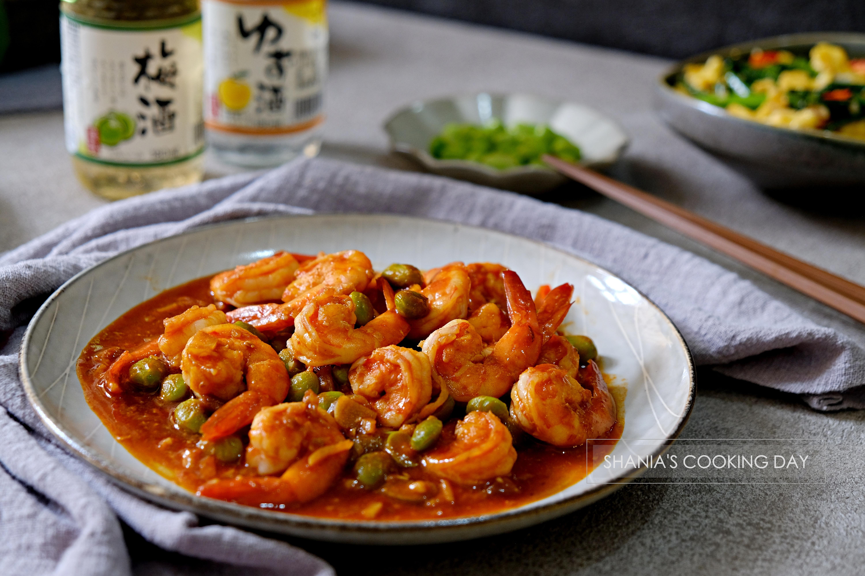 乾燒蝦仁 - 酸甜好滋味