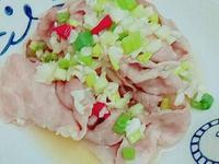 檸檬梅花肉片