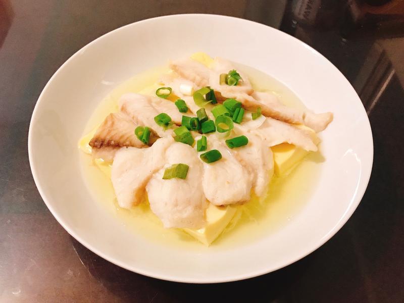 味噌鯛魚蛋豆腐(減脂料理)