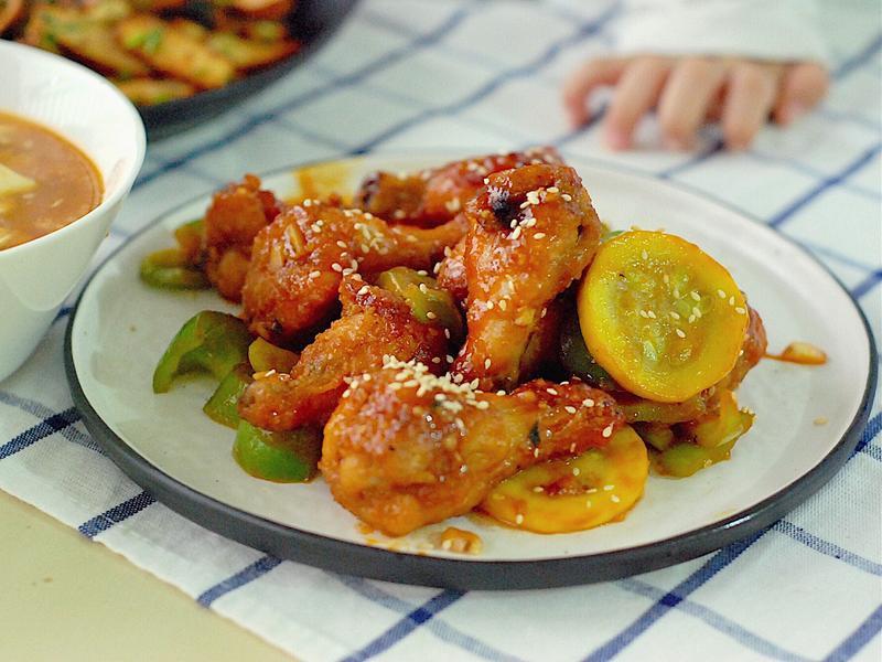 氣炸 糖醋雞肉(排骨)