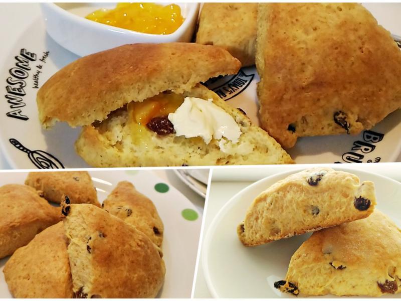 用鬆餅粉作簡單又快速的司康