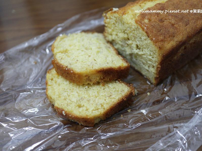 香蕉蜂蜜磅蛋糕(茉莉麻親子廚房)
