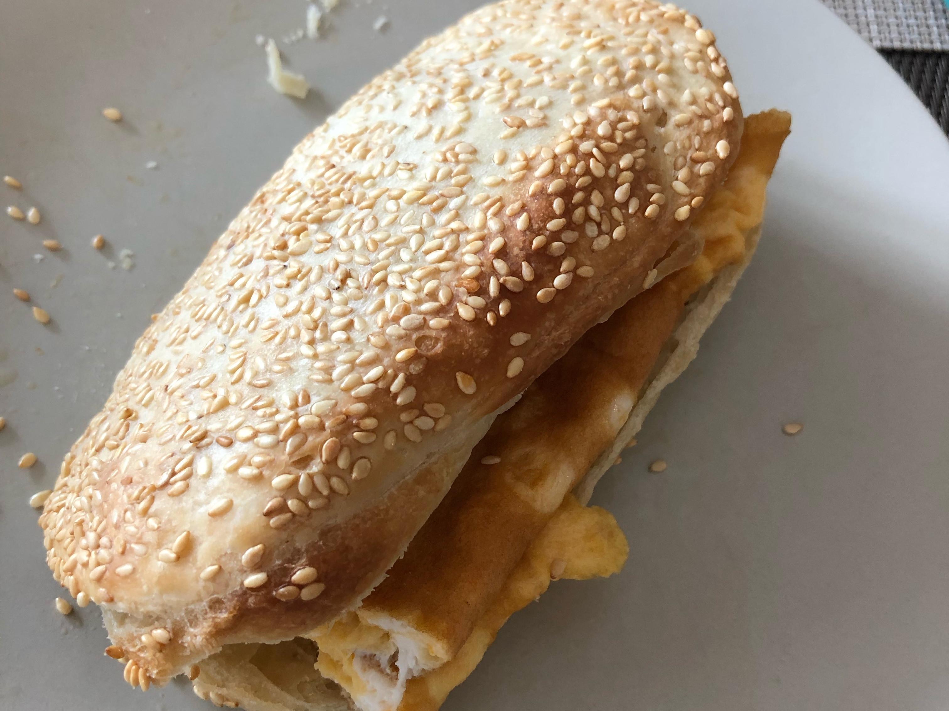 白芝麻燒餅