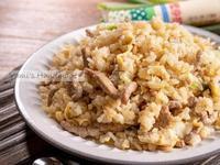 沙拉醬牛肉蛋炒飯【家常菜】